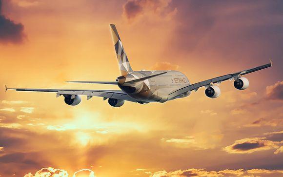 Envolez-vous avec Etihad Airways