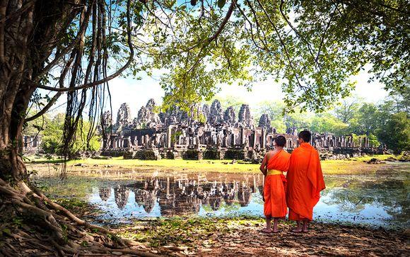 Circuit la Beauté du Cambodge et extension possible à Koh Samui