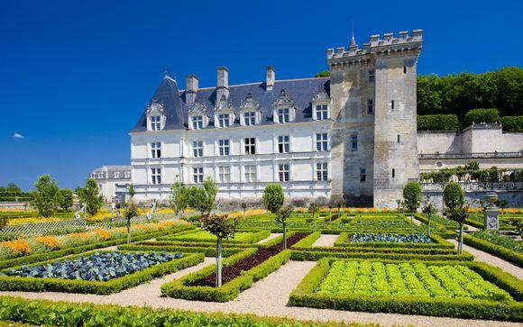 Votre forfait excursion : Les Châteaux de la Loire