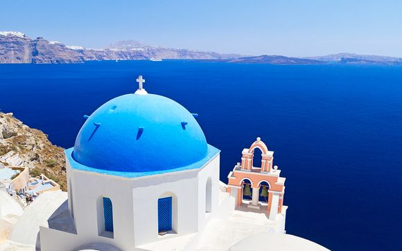 Combiné Cyclades Athènes, Paros, Naxos, Santorin et Mykonos