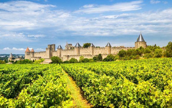 France Carcassonne - Hôtel du Soleil Le Terminus à partir de 39,00 € (39.00 EUR€)