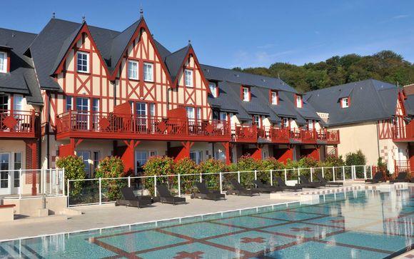 France Houlgate - Résidence Pierre & Vacances Premium & Spa Houlgate 4* à partir de 149,00 € (149.00 EUR€)