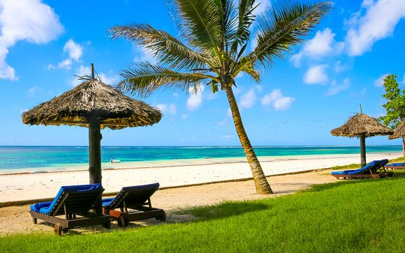Diani Sea Resort 4* et Safaris