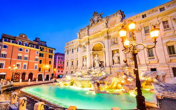 Italie Rome - Hôtel Morgana 4*  à partir de 95,00 € (95.00 EUR€)