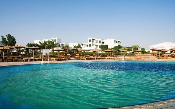 Egypte Hurghada - Club Mercure Hurghada 4* Sup ou Combiné Rêverie sur le Nil-hôtel à partir de 5...