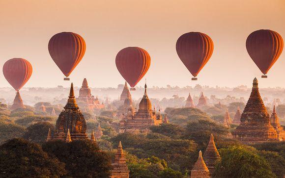 Myanmar Yangon - Circuit privatif Le Meilleur du Myanmar et séjour balnéaire possible à partir d... (1873.00 EUR€)