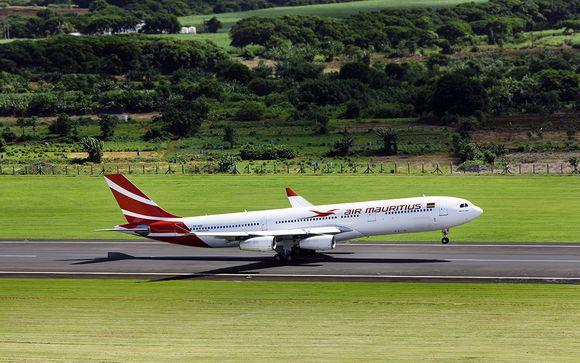 Offrez-vous un vol direct en classe économique avec Air Mauritius