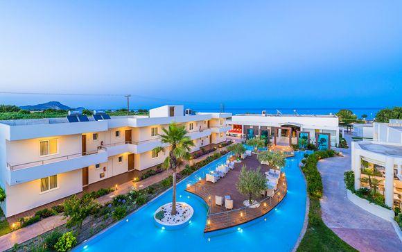 Poussez les portes de l'Afandou Bay Resort Suites 5*