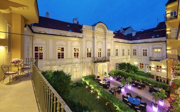 Luxe et romantisme dans un bâtiment du XVIIIe