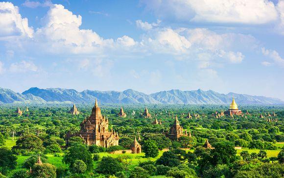 Circuit privé sans guide : Luxe et Nature au Myanmar, 9 à 13 nuits