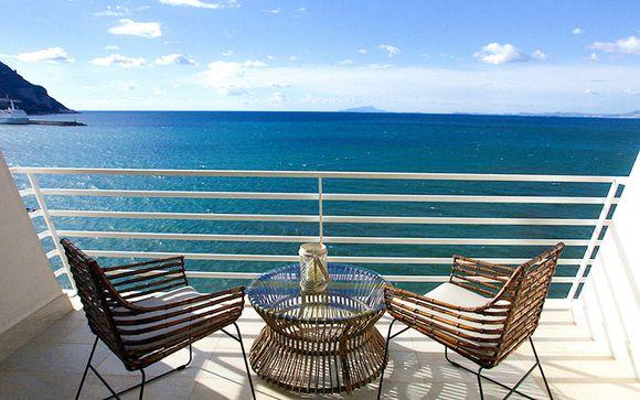 Un balcon, la mer, des vacances de rêve