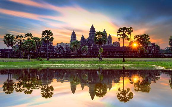 Circuit Privatif Merveilles du Cambodge, s�jour possible � Bangkok
