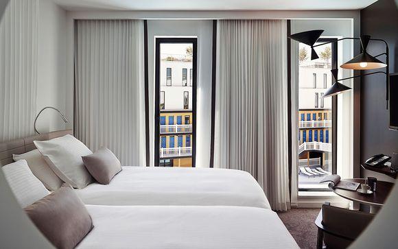 Poussez les portes de votre hôtel de luxe 5 étoiles