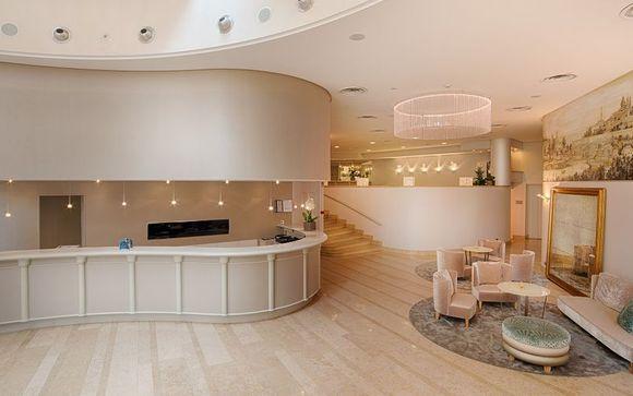 Poussez les portes de l'hôtel NH Genova Centro 4*