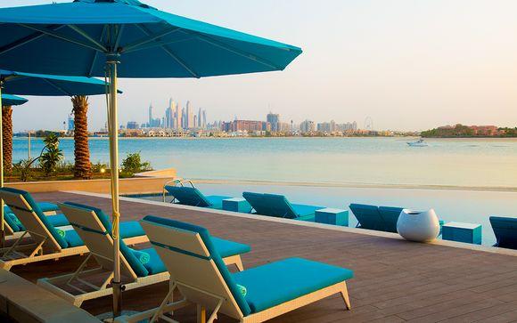 Escale bien-être face à l'île de Palm Jumeirah