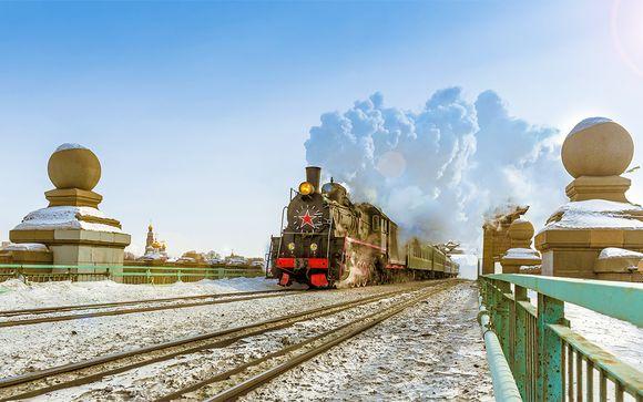 Le Transsibérien de Moscou ou Saint-Pétersbourg à Pékin