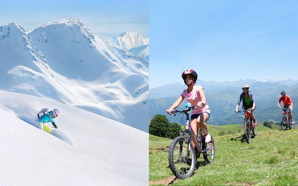 Poudreuse ou nature et tout inclus dans les Alpes du Sud
