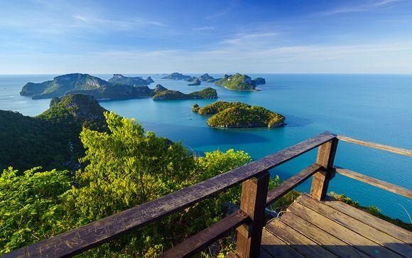 Combiné Century Park Bangkok 4* et Paradise Beach Samui 4*