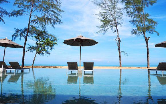 Hôtel La Vela Khaolak 4* et séjour possible à Bangkok