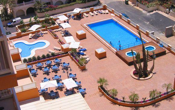 Poussez les portes du Poseidon La Manga Hotel & Spa 4*