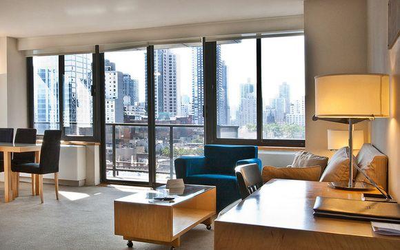 Suite panoramique dans l'Upper East Side