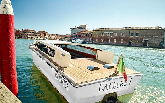 Raffinement et modernité sur l'île de Murano