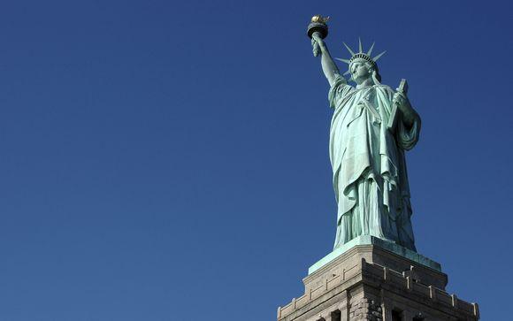 Photographie de la statue de la Liberté à New York, Etats-Unis