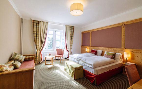 Poussez les portes de votre Hôtel Schloss Pontresina 4*