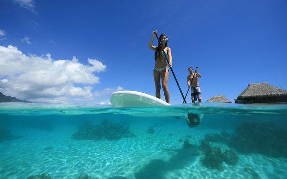 Poussez les portes de l'hôtel Hilton Moorea Lagoon Resort & Spa 5*