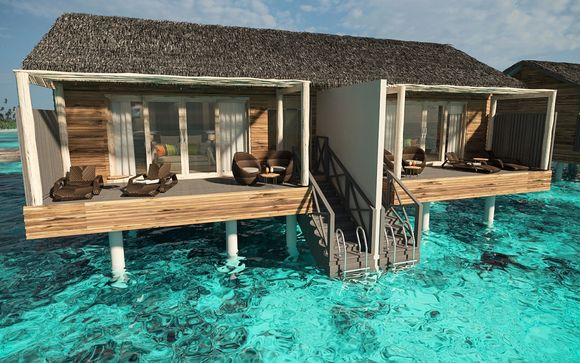 Hôtel You & Me by Cocoon Maldives 5*-Adult Only avec Qatar Airways
