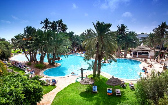 Oasis entre mer et Sahara