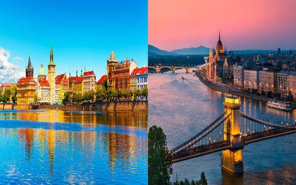 Combiné 5* Prague et Budapest