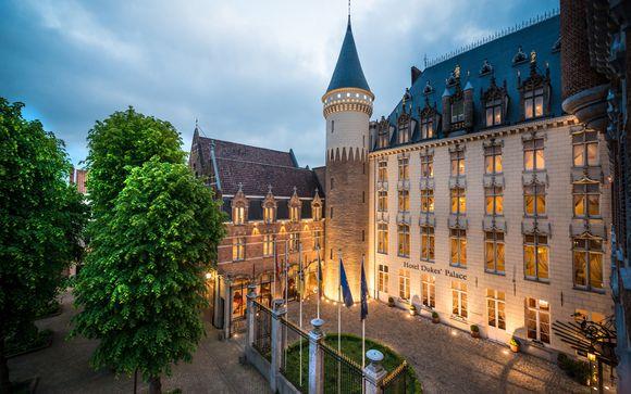 Hôtel Dukes' Palace 5* Sup ou combiné possible avec Bruxelles
