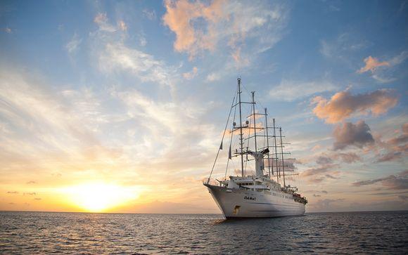 Mini-croisière Club Med 2 - Vers Ajaccio en octobre