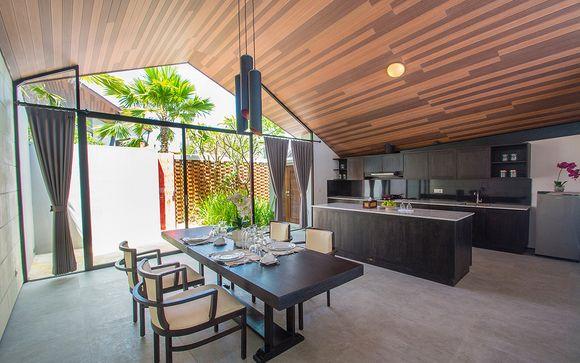 Poussez les portes de l'hôtel Dancing Villas 5* à Nusa Dua
