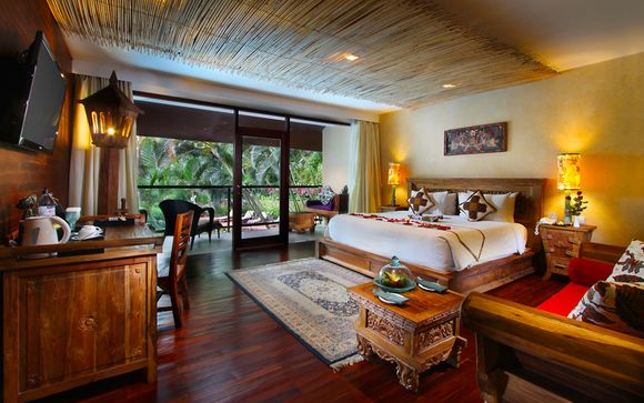 Poussez les portes de l'hôtel Jungle Retreat by Kupu Kupu Barong 5* à Ubud