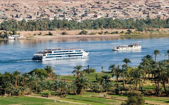 Votre croisière sur le Nil 5* possible en un clin d'oeil (offre 2 uniquement)