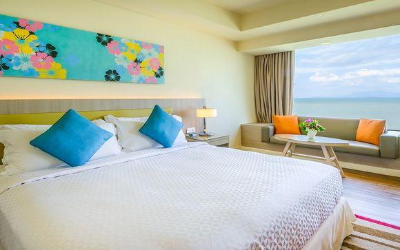 Poussez les portes de l'hôtel Mercure Penang Beach 4* à Penang