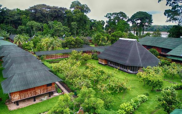 Votre extension possible à l'hôtel Eco Amazonia Loadge en Amazonie