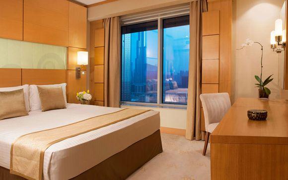 Poussez les portes de l'hôtel  Carlton Downtown à Dubai