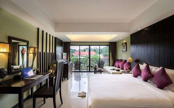 Poussez les portes de l'hôtel Khaolak Emerald 4*