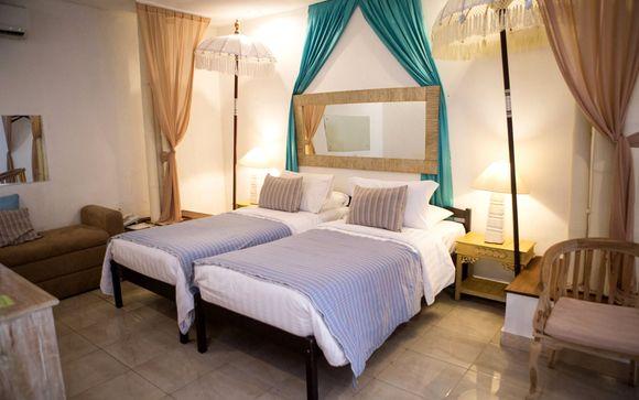 Poussez les portes de l'hôtel The Mansion Baliwood 5*