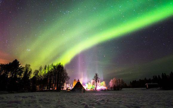 Poussez les portes de l'hôtel Apukka Arctic Resort à Rovaniemi