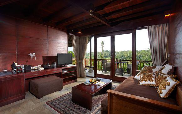 Poussez les portes de l'hôtel Kupu Kupu Barong Villas & Tree Spa by L'Occitane 5*