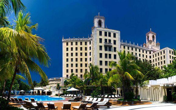 Poussez les portes de l'hôtel Nacional de Cuba 5* à La Havane
