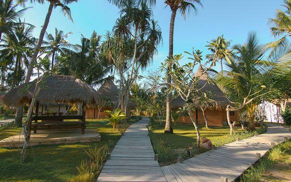 Poussez les portes de l'hôtel Nusa Beach Club Lembongan 4*