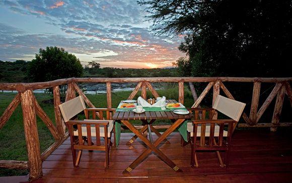 Poussez les portes de l'hôtel Neptune Mara Rianta Luxury Camp 5*