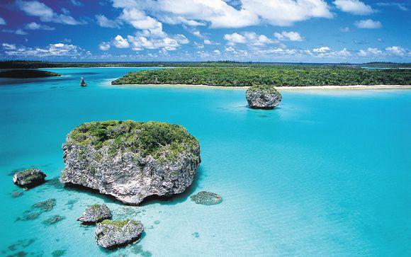 Cicruit Cocktail tropical calédonien de 4 îles en 11 jours / 10 nuits