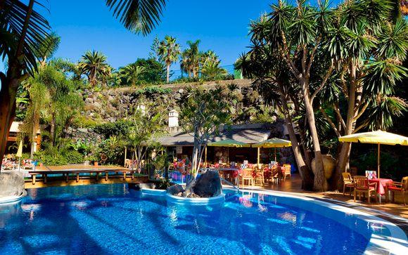 Poussez les portes de l'hôtel Puerto de la Cruz 4*