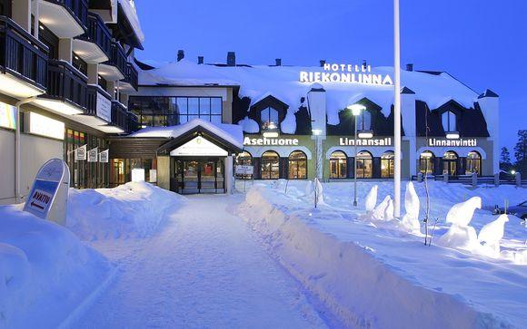 Poussez les portes de votre hôtel Riekonlinna